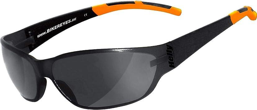 Helly No 1 Bikereyes Bikerbrille Motorrad Sonnenbrille Motorradbrille Beschlagfrei Winddicht Bruchsicher Top Tragegefühl Brille Airshade Auto