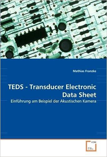 Book TEDS - Transducer Electronic Data Sheet: Einführung am Beispiel der Akustischen Kamera