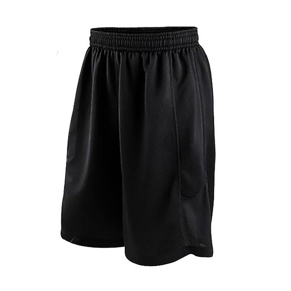 SailBee Mens Mesh Shorts Zipper Pockets Plain Workout Jersey Soft Basketball Gym Fitness