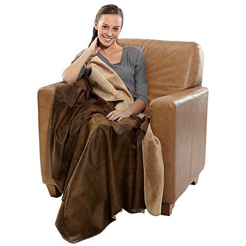 Robesale Rustic Ranch Throw 50 X 60 inch, Blanket, ()