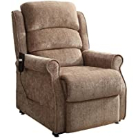 Homelegance 8509-1LT Power Lift Recliner Chair, Brown Chenille