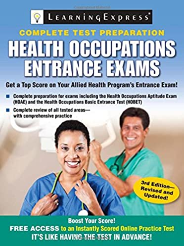 health occupations entrance exams learningexpress llc rh amazon ca GMAT Exam Preparation GMAT Exam Preparation
