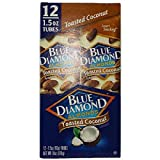 Product Of Blue Diamond, Almonds Toasted Coconut Tube, Count 12 (1.5 oz) - Nut & Dry Fruit / Grab Varieties & Flavors