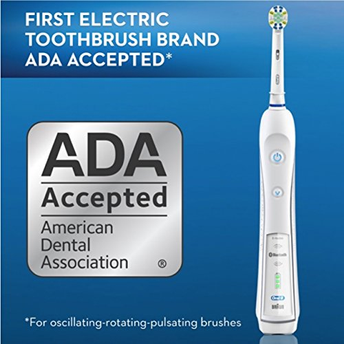 Oral-B Pro 5000 SmartSeries Power Rechargeable Electric Toothbrush with Bluetooth Connectivity Powered by Braun by Oral B (Image #10)
