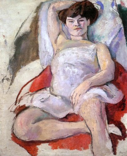 Jules Pascin Dancer at the Moulin Rouge - 20.1