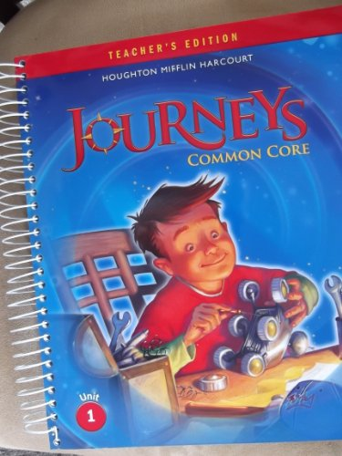 Journeys: Teacher's Edition Volume 1 Grade 4 2014