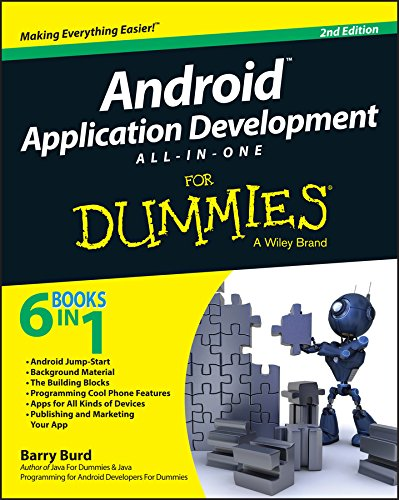 - Android Application Development All-in-One For Dummies