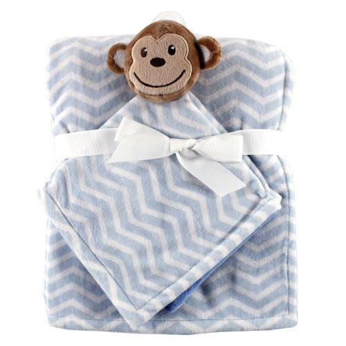 Hudson Baby Security Blanket Monkey