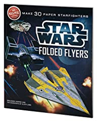 For the first time ever, you can fold Star Wars flyers that fly with the force. Star Wars Folded Flyers will speed through the living room as well as they do in outer space. That's because each of the six-starfighter designs has been rigorous...