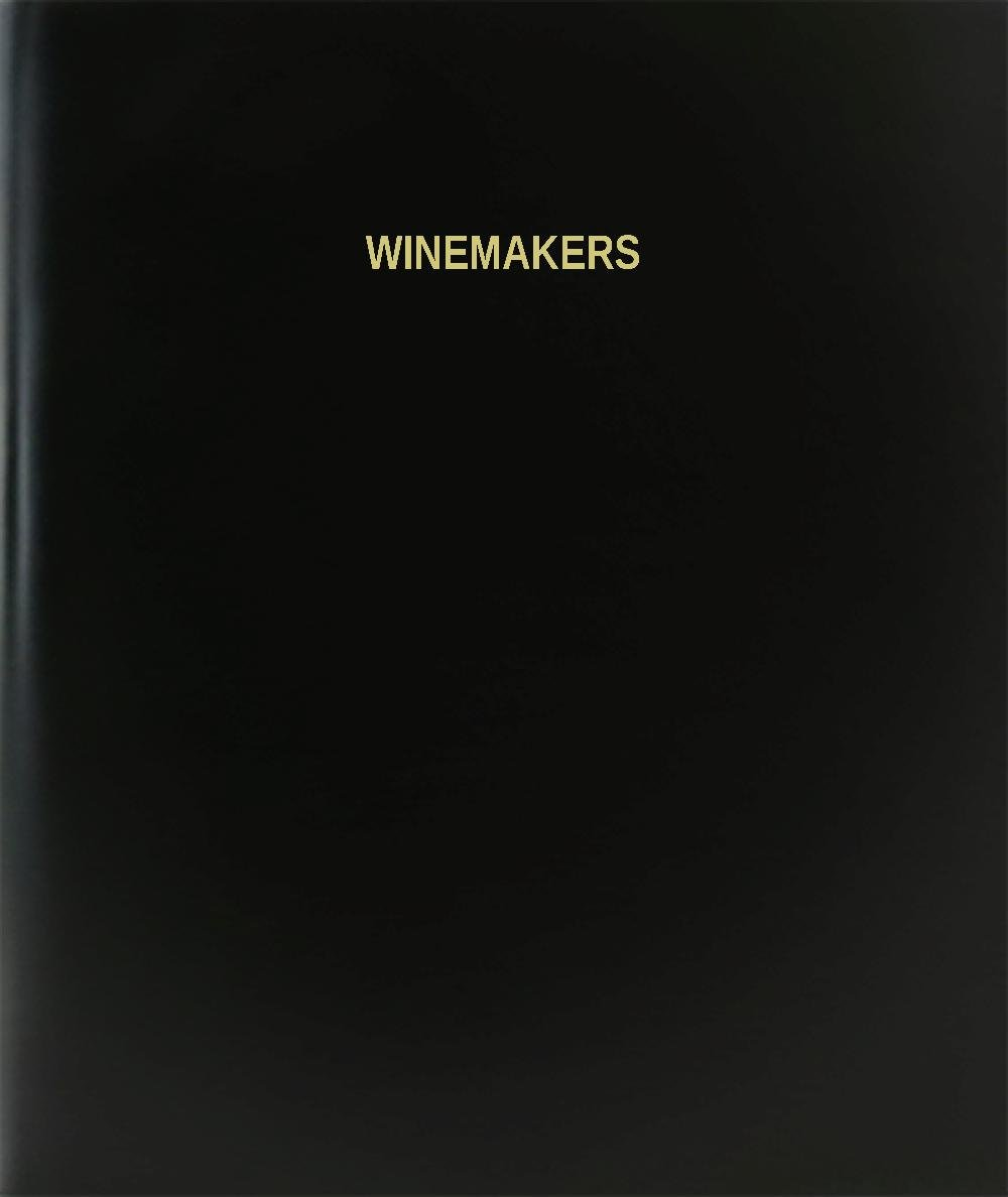 BookFactory® Winemakers Log Book / Journal / Logbook - 120 Page, 8.5''x11'', Black Hardbound (XLog-120-7CS-A-L-Black(Winemakers Log Book)) by BookFactory (Image #4)