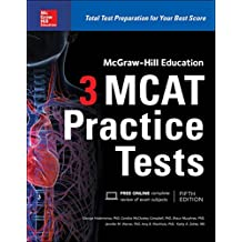 Amazon jennifer m george books mcgraw hill education 3 mcat practice tests third edition fandeluxe Images