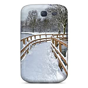 KEuwnsy6344UQKaS AnnetteL Snow City Park Feeling Galaxy S3 On Your Style Birthday Gift Cover Case