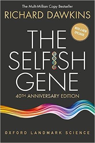[Book Image] The Selfish Gene, by Richard Dawkins