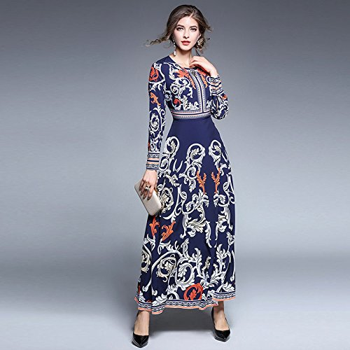 Vestido Péndulo Vestido blue Elegante Elegante Diamond ZHUDJ Vestido nRxvXqfwwt