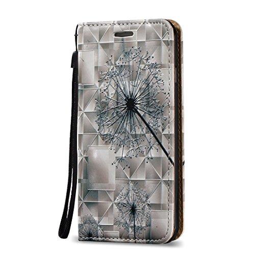 Mobile protection Para el iPhone 7 3D Alivio pluma patrón horizontal Flip caja de cuero con titular y ranuras para tarjetas y cordón ( SKU : Ip7g0621d ) Ip7g0621b