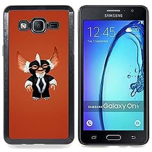 """Qstar Arte & diseño plástico duro Fundas Cover Cubre Hard Case Cover para Samsung Galaxy On5 O5 (Película Monstruo lindo Sonrisa Furry Toy Carácter"""")"""
