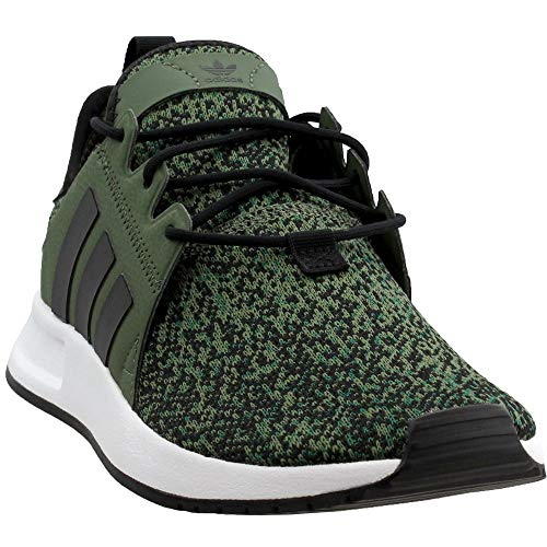 adidas Originals Men's X_PLR, Base GreenBlackWhite, 9 M US FrenzyStyle