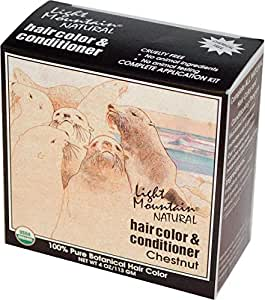 Light Mountain, Natural Hair Color & Conditioner, Chestnut, 4 oz (113 g)
