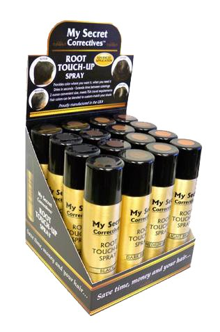 My Secret Root Touch Up Spray 2 oz. /20 Pc Display by My Secret