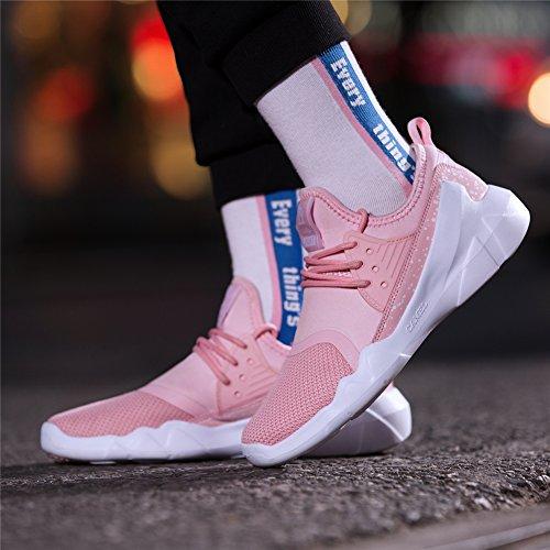 Damen CAMEL Rosa Casual Sneaker Sportschuhe Gym Freizeit Bequeme Frauen Leichte Running Laufschuhe Breathable Turnschuhe Gehen Schuhe Zum rrWnax5wqt