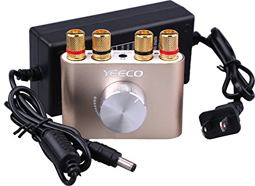 Yeeco Mini Hifi Stereo Power Amplifier AMP Module 50W+50W Du