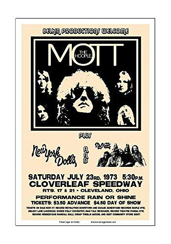 Raw Sugar Art Studio Mott The Hoople/New York Dolls/Ian Hunter 1973 Cleveland Concert ()