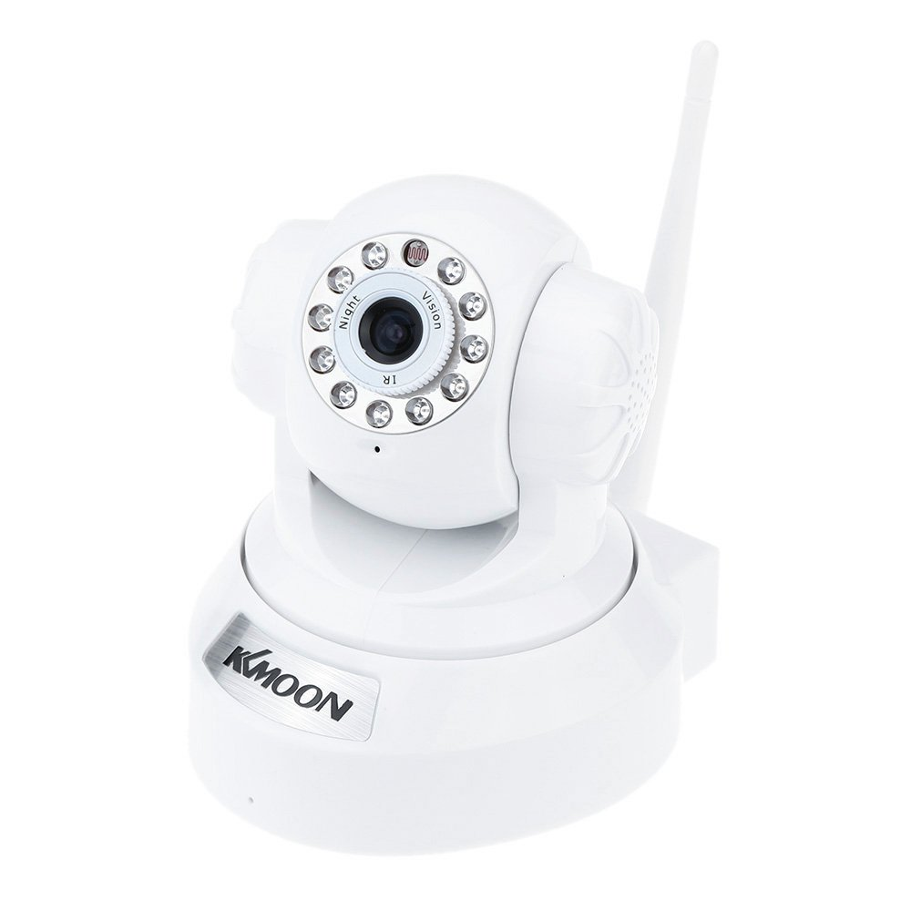 KKmoon TP-C517WT Pan & Tilt IP Network Wireless WIFi Dome Camera HD 720P H.264 IR CUT Night Vision Support