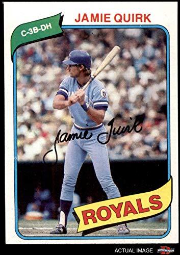 - 1980 Topps # 248 Jamie Quirk Kansas City Royals (Baseball Card) Dean's Cards 8 - NM/MT Royals