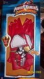 : RED Dinothunder Electronic Gloves Dino Thunder Power Rangers