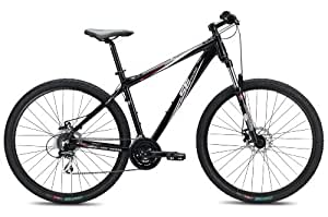 SE Bikes Big Mountain 24-Speed D Hard Tail Mountain Bicycle, Black, 21 Inch