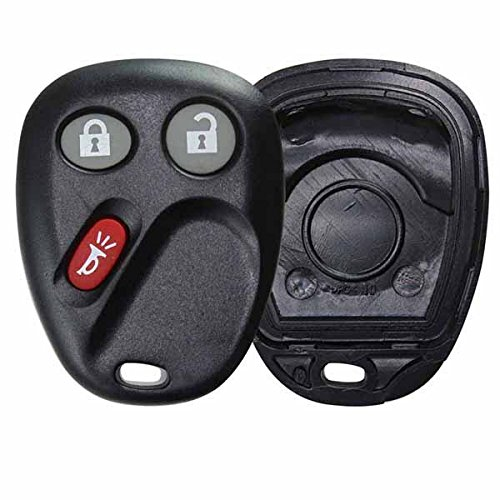 KeylessOption Just the Case Keyless Entry Remote Key Fob Shell For LHJ011