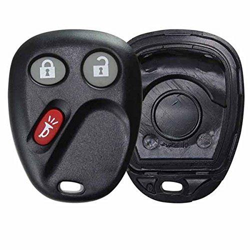 (KeylessOption Just the Case Keyless Entry Remote Key Fob Shell For LHJ011)