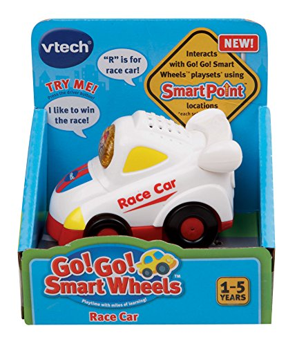 VTech Go! Go! Smart Wheels White Race Car by VTech (Image #5)