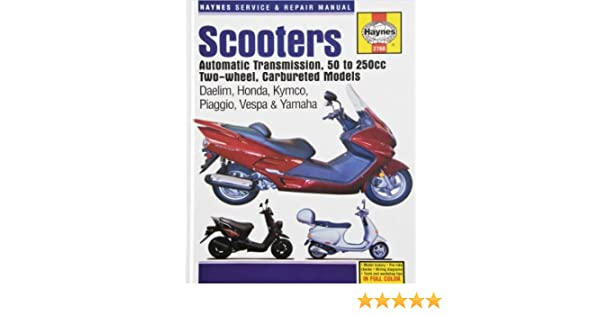 Amazon.com: Chinese, Taiwanese and Korean Scooters Haynes Repair Manual: Automotive