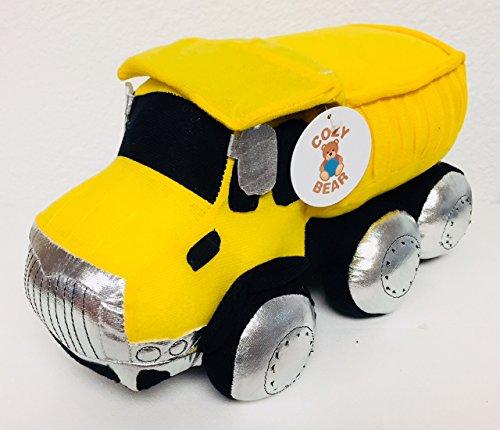 Dump Truck Plush Construction Toy by Cozy Bear
