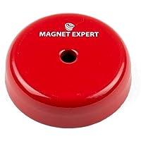 Imán expertos alsp3810m5–1Shallow Pot imán, 5,2mm, agujero