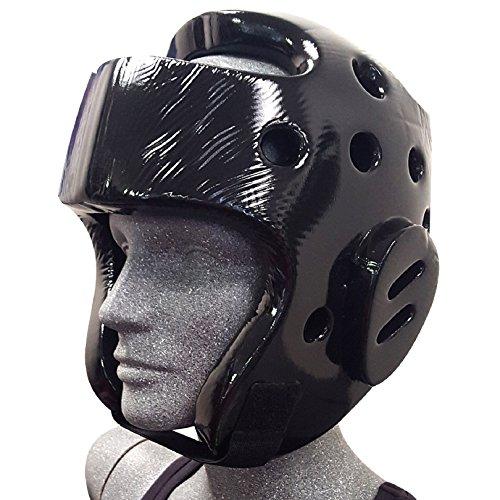 Otomix Karate Taekwondo Sparring Gear Headgear (Black, Large)
