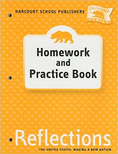 Harcourt school publishers reflections california homework harcourt school publishers reflections california homework practice book reflection grade 5 9780153414800 amazon books fandeluxe Images