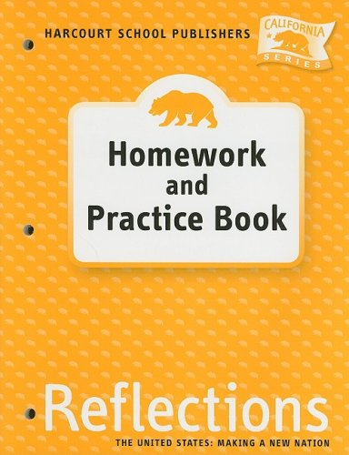 Harcourt School Publishers Reflections California: Homework & Practice Book Reflection, Grade 5