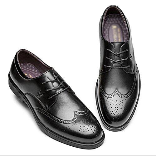 Hommes Cuir Le B Cuir Occasionnels En Sport Pour Bureau D'affaires Chaussures Travail Chaussures Respirant D'été De Yra Hommes Classique Bullock De YnAxAR
