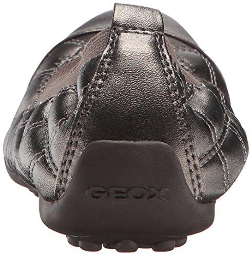 Geox D Ned Til Bal, Ballerinaer Dame Grå (c1018 / Perl Sint)