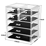 Makeup Organizer Acrylic Cosmetic with 7 Storage
