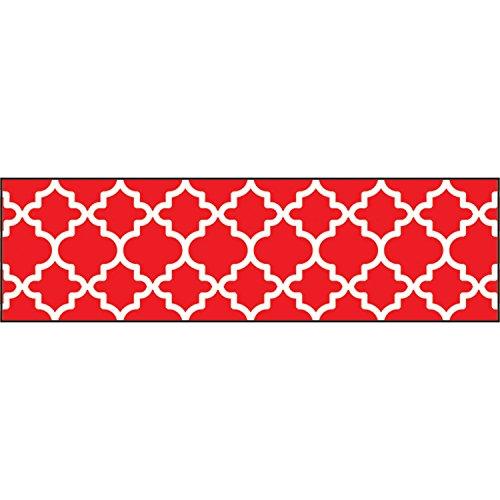 TREND enterprises, Inc. T-85175BN Moroccan Red Bolder Borders, 35.75' Per Pack, 6 Packs