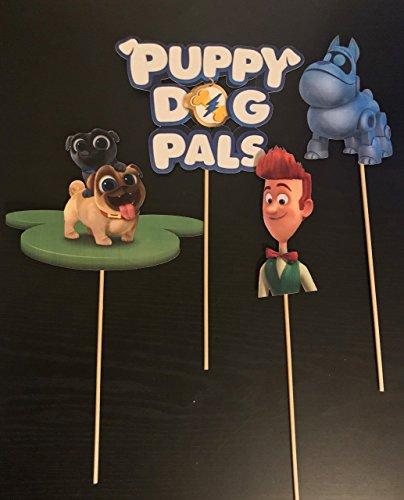 Puppy Dog Pals Centerpieces / Puppy Dog Pals Party Supplies/ Puppy Dog Pals / Puppy Dog Pals Party/ Puppy Dog Pals Inspired Pals Centerpiece