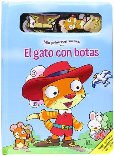 El gato con botas / Puss in Boots (Mis primeros imanes / My first magnets) (Spanish Edition): Jesus Lopez Pastor: 9788466215817: Amazon.com: Books