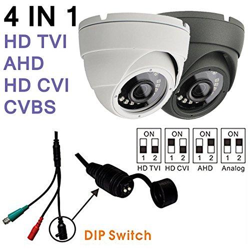 HD CCTV 2.4MP Bullet Security Camera CVI AHD TVI Analog CVBS WeatherProof Night