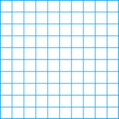 Clearprint 3020 Bond Pad with Printed Fade-Out 10x10 Grid, 20 lb, 8-1/2 x 11 Inches, 50 Sheets, White, 1 Each (937811P1)