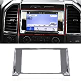 Voodonala Chrome Navigation GPS Cover Decorative Trim ABS for Ford F-150 F150 2015 2016 2017