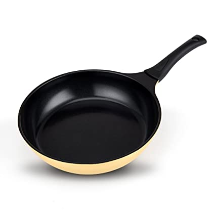 Nonstick Frying Pan Ceramic Coating, 12 inches PFOA Free, Even Heating Cookware, Detachable