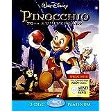 Pinocchio 70th Anniversary Platinum Edition Bluray Steelbook